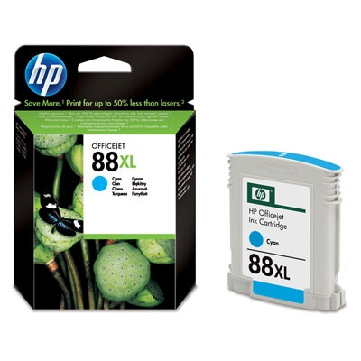 HP 88XL Cyan Ink Cart, 17,1 ml, C9391AE